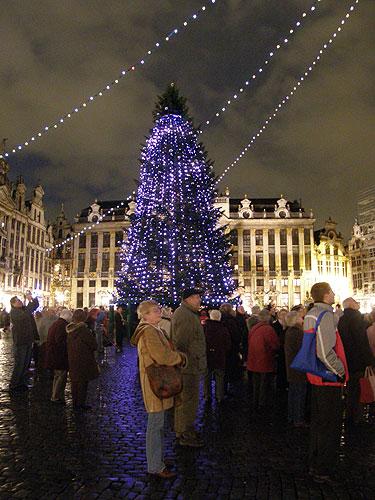 Vánoční exkurze do EP v Bruselu, 5. – 6. prosince 2007, foto: Miroslav Funka