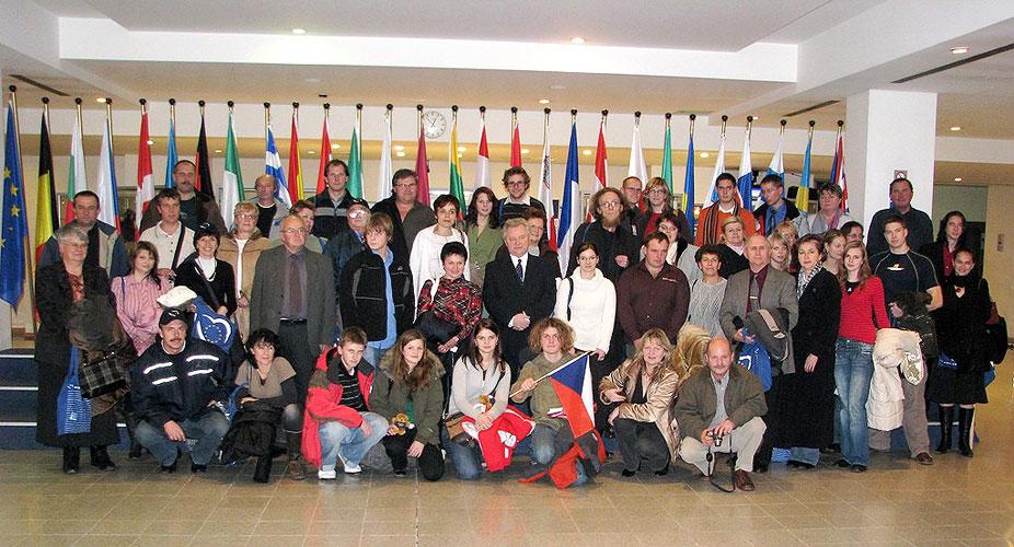 Vánoční exkurze do EP v Bruselu, 5. – 6. prosince 2007