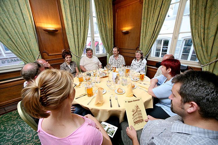 Jihočeši navštívili 18. a 19. června 2008 Štrasburk na pozvání europoslance Jaroslava Zvěřiny, foto: Lubor Mrázek