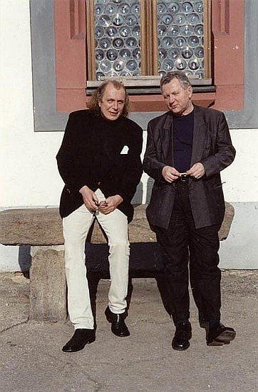 Před Matrikou v Táboře s přítelem Kristianem Kodetem