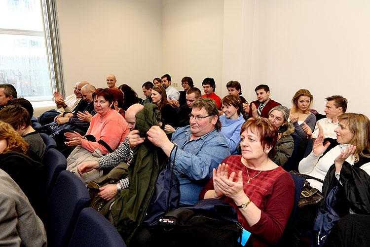 55 Jihočechů navštívilo ve dnech 29. a 30. ledna 2009 Brusel na pozvání europoslance Jaroslava Zvěřiny, foto: Lubor Mrázek