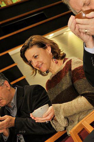 Čajový obřad v Evropském parlamentu v Bruselu, 17.2.2009
