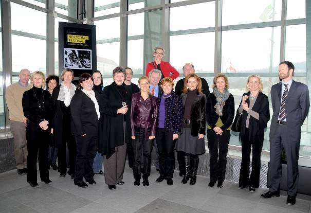 Delegace Kulturního výboru Evropského parlamentu navštívila Linec 25. - 27.2.2009