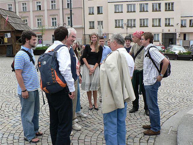 Studenti ze státu Georgia se učí na jihu Čech