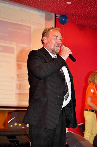 Pavel Eybert, Evropský večer 2009, čtvrtek 16. dubna 2009, foto: Lubor Mrázek