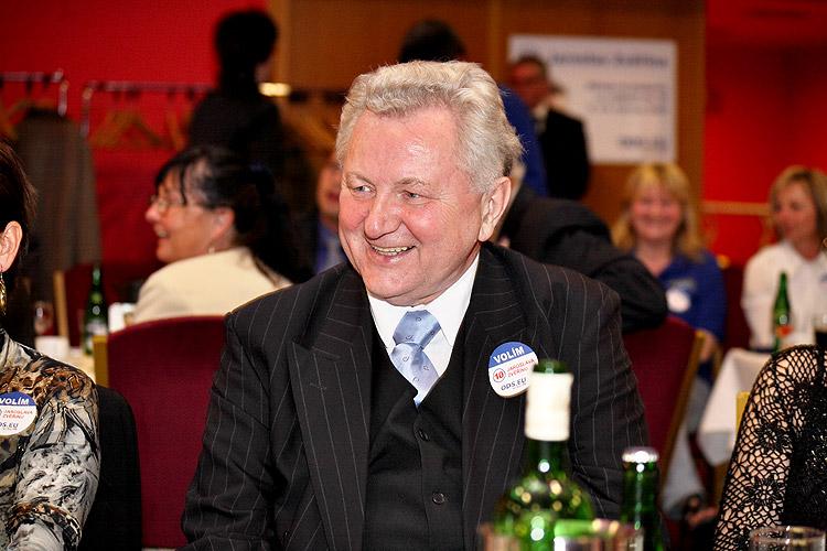 Jaroslav Zvěřina, Evropský večer 2009, čtvrtek 16. dubna 2009, foto: Lubor Mrázek