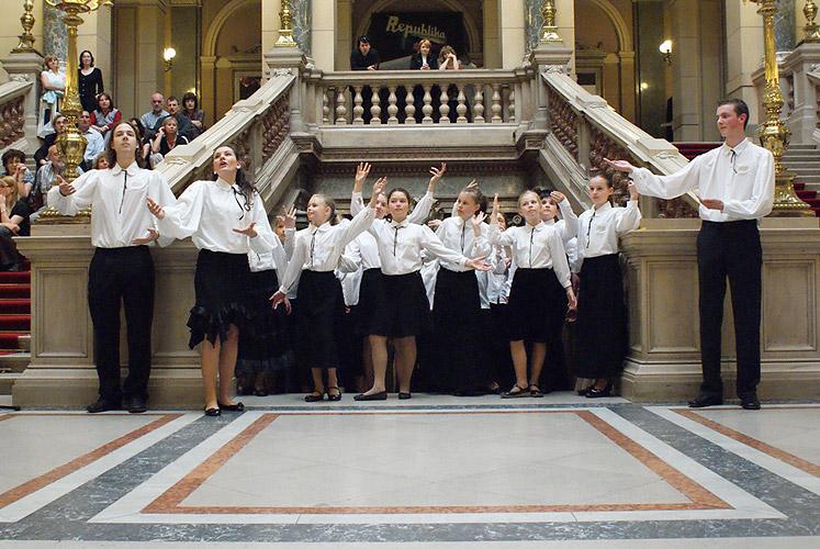 Vernisáž výstavy Evropa, kolébka vědeckého porodnictví, 7. května 2009, Národní muzeum Praha, foto: Jan Karlovský