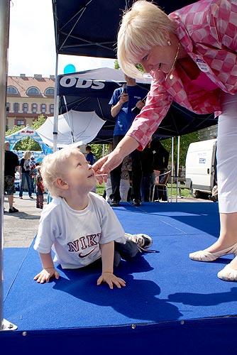 Městečko ŘEŠENÍ v Táboře, 11. května 2009, foto: Jan Karlovský