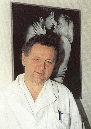 Portrét v ordinaci Sexuologického ústavu v Praze