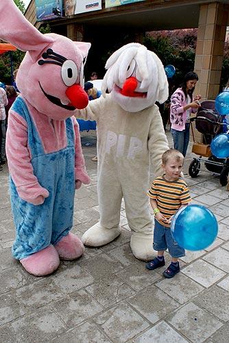 Zábavné odpoledne pro děti ve Strakonicích, 21. května 2009, foto: Jan Karlovský