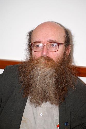 """Beseda """"o sexualitě a krásné literatuře"""", Kavárna Evald v Praze, 25. května 2009, foto: Jan Karlovský"""