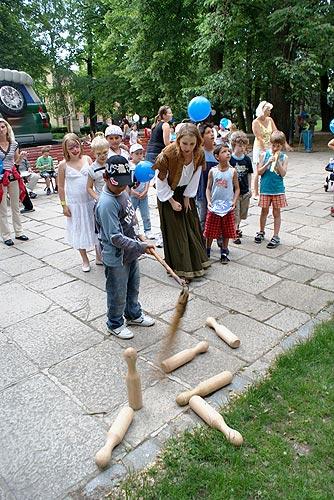 Zábavné odpoledne pro děti v Písku, 26. května 2009, foto: Jan Karlovský