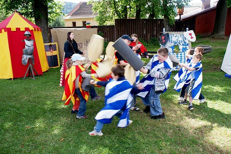 Zábavné odpoledne pro děti v Prachaticích, 27. května 2009, foto: Jan Karlovský
