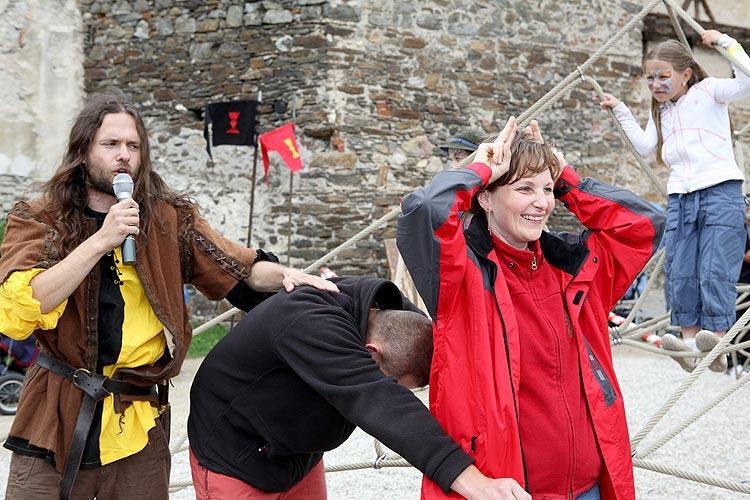 Zábavné odpoledne pro děti v Českém Krumlově, 28. května 2009, foto: Lubor Mrázek