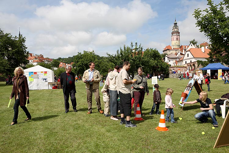 Den dětí - POHÁDKOVÁ EVROPA pořádaný DDM Český Krumlov, 31. května 2009, foto: Lubor Mrázek