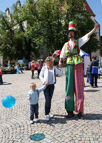 Zábavné odpoledne pro děti v Táboře, 1. června 2009, foto: Jan Karlovský