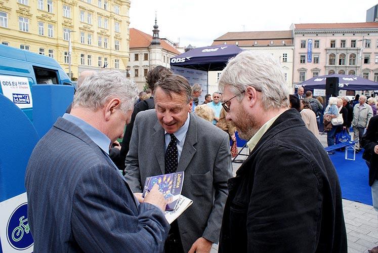 Městečko ŘEŠENÍ v Brně, 2. června 2009, foto: Jan Karlovský