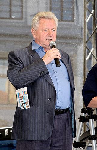 Happeningové odpoledne na náměstí Přemysla Otakara II. v Českých Budějovicích, 3. června 2009, foto: Lubor Mrázek