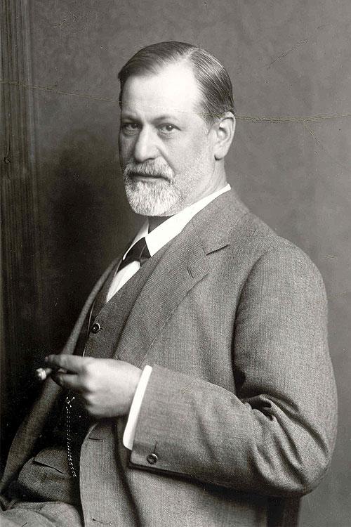Sigmund Freud, portrét