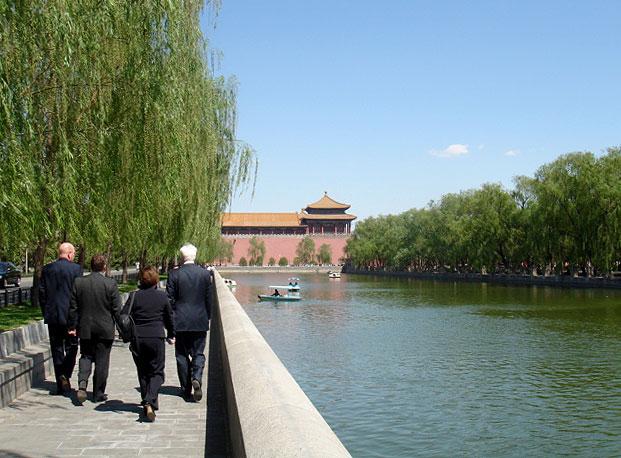 Peking - Zakázané město, návštěva Čínské lidové republiky 8.5. - 11.5.2006