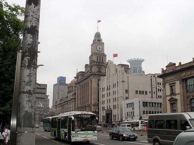 Šanghaj - centrum, návštěva Čínské lidové republiky 8.5. - 11.5.2006