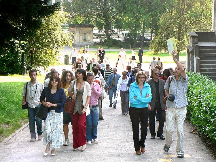 Návštěva Bruselu na pozvání europoslance Zvěřiny, 27. – 30. června 2006