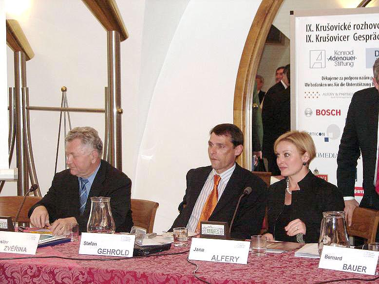 IX. Krušovické rozhovory, 26.4.2007, foto: Jan Komzák