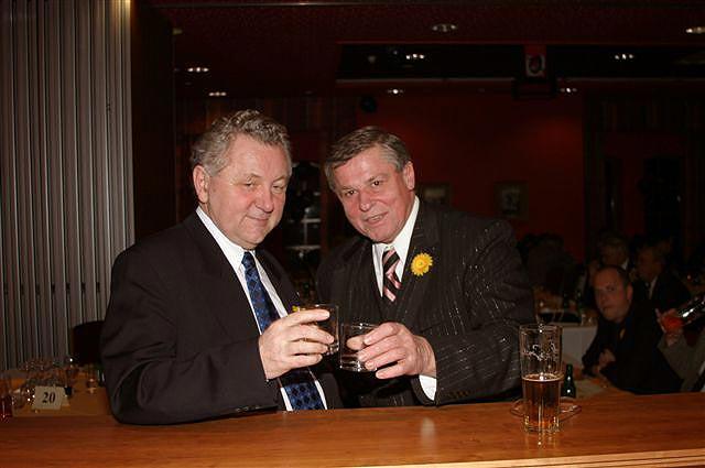 1. Evropský večer v Táboře 21. ledna 2005, Jaroslav Zvěřina s Ľaďou Kerndlem