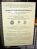 Europe, cradle of scientific obstetrics, 2nd October 2007 |